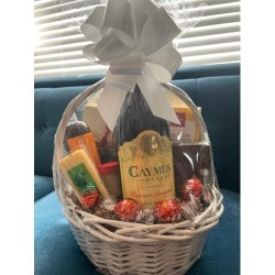Caymus Cheese & Wine Gift Basket