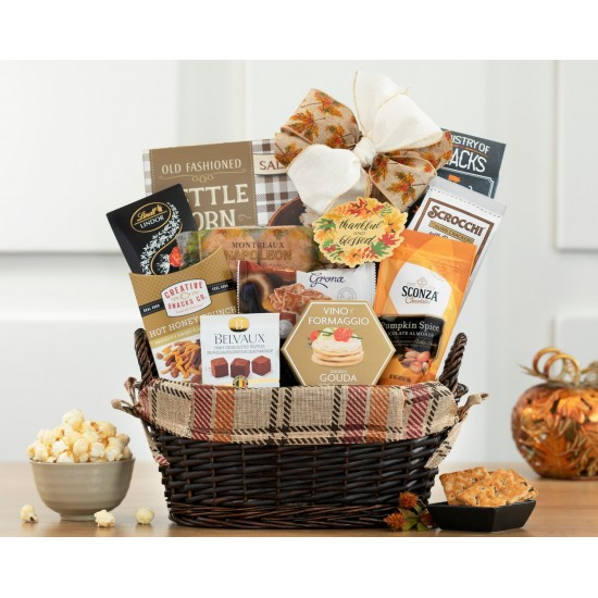 Happy Thanksgiving Gourmet Gift Basket