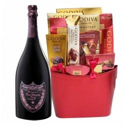 Dom Pérignon Rose with Godiva