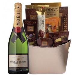 Moët & Chandon Impérial Brut Champagne Gift Basket