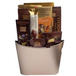 Godiva Chocolates Basket